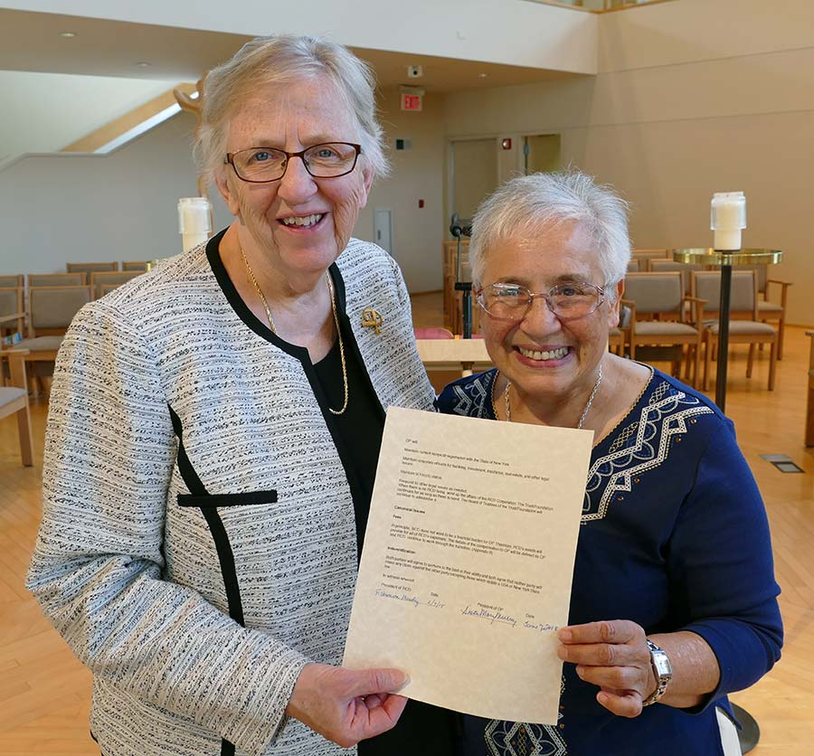 2019 – A covenant with the Sisters of Our Lady of Christian Doctrine