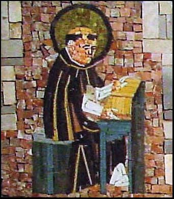 Saint Dominic mural