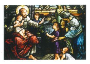 Spiritual Healing card front cover