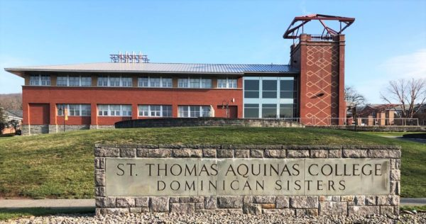 St. Thomas Aquinas College sign