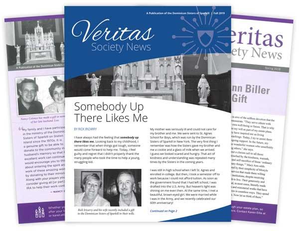 Veritas Society News covers