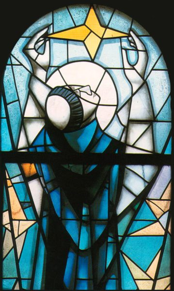 dominican spirituality stained glass